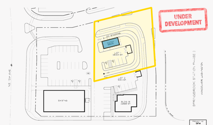 Dutch bros site plan