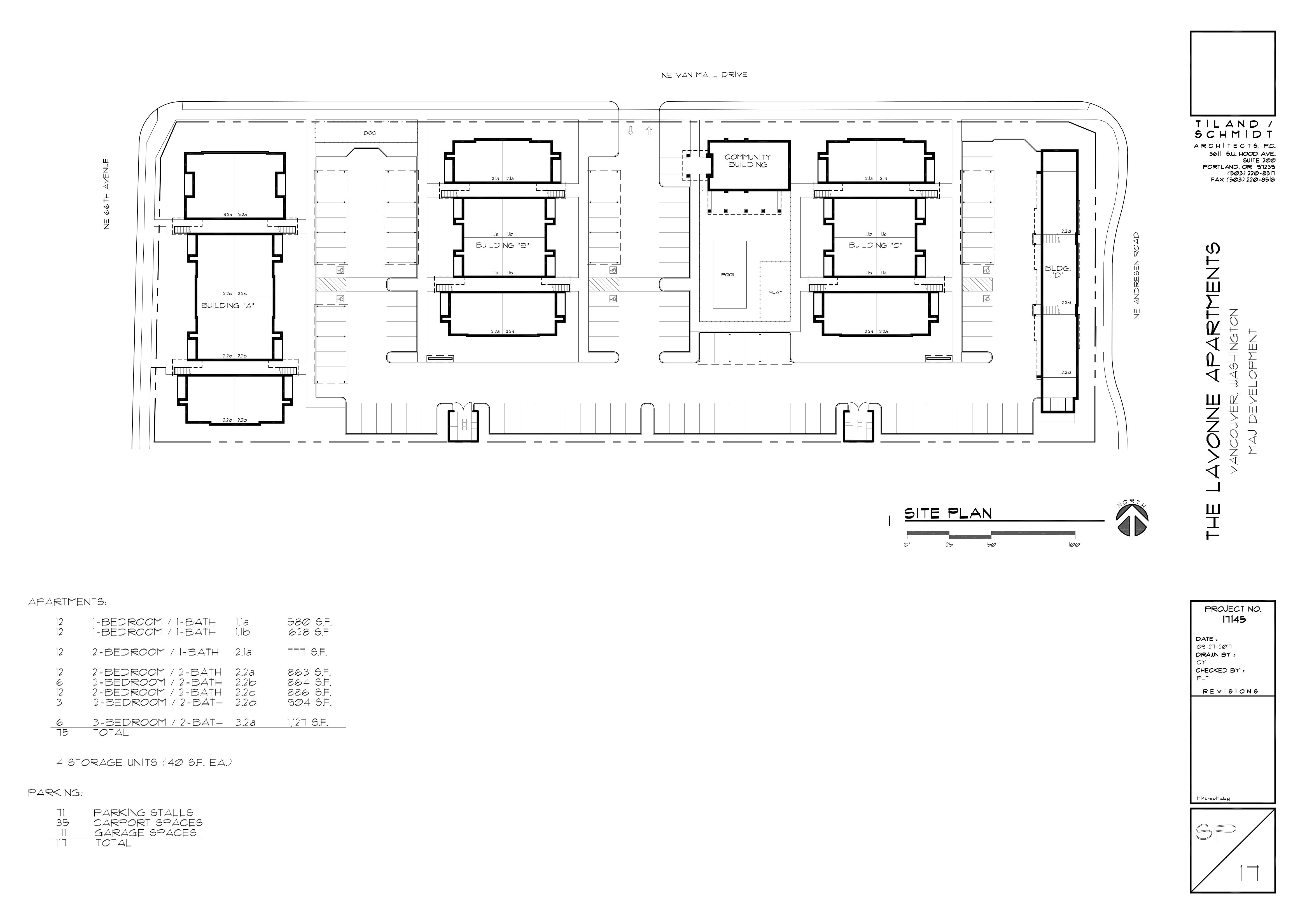 The Lavonne Site Plan