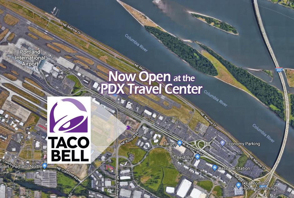 TacoBell at PDX Travel Center